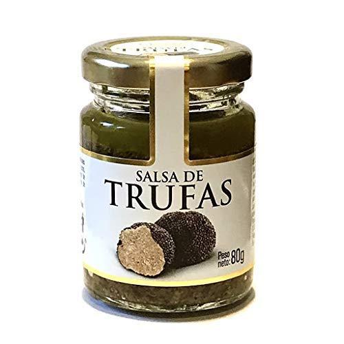 Salsa de 100% trufa italiana- TRUFA Agaricus bisporus. Ideal para la alta cocina. 80 Gramos