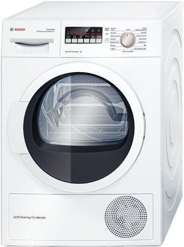 Bosch WTW86217IT Libera installazione Carica frontale 7kg A++ Bianco asciugatrice