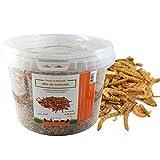 FINCA CASAREJO Mix de Insectos Secos. Alimento deshidratado para gallinas, Pavos, faisanes y Otras Aves de Corral (600)