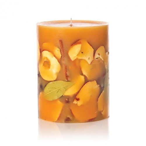 Rosy Rings Spicy Apple Tall Round Scented Candles, 5'