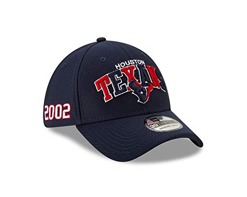 New Era NFL Houston Texans Authentic 2019 Sideline 39THIRTY Stretch Fit Home Cap, Größe :M/L
