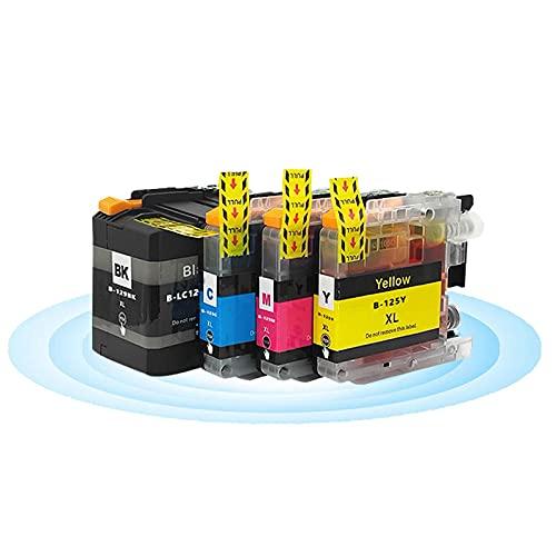 LC129XLBK LC125XL C M Y Cartuchos De Tinta Reemplazo Compatible La Impresora para Brother MFC-J6920DW J6720DW J6520DW 1 Set