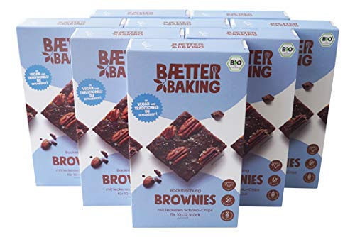 8er Party Pack - Brownies Bio - Backmischung (8x302g) vegan glutenfrei
