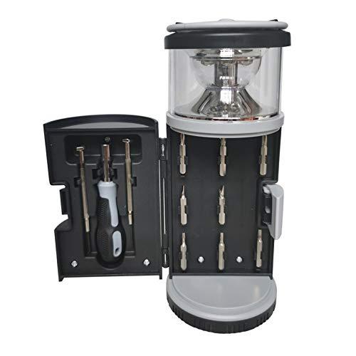 Euch 1 lámpara de camping multifunción, 1 unidad, 1 vente, lámpara de camping recargable. Cintura del producto: 8 x 8,1 x 19,5 cm.