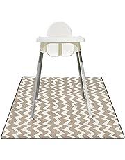 Baby Spill Matta, Luckits Vattentät Baby Splat Golvmatta för underbar stol, Återanvändbar tvättbar stänkmatta Fläckbeständig lekmatta med halkskydd, för golv, bord, under barnstolar, hantverk, lektid