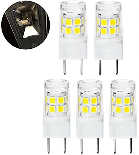 G8 LED bombilla de luz AC110 / 130V Lámpara de cerámica 2835 17 Tallas resaltados LED Luz de maíz Cristal SournInStead de la lámpara halógena 20W ( Number of LED Chip : 5 pcs , Wattage : 3W )