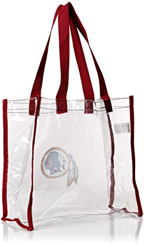 Washington Redskins Clear Reusable Bag