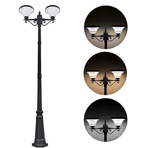 See the TOP 10 Best<br>Outdoor Solar Powered Lamp Post