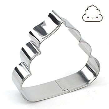 GXHUANG Cute Dung Cookie Cutter - Stainless Steel  Poo