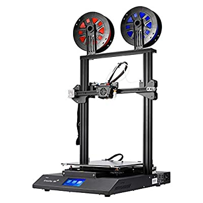 Creality CR-X Pro 3D Printer with Dual Extruder BL Touch Silent Mother Board Meanwell Power Supply and 2kg PLA Filaments 300x300x400MM