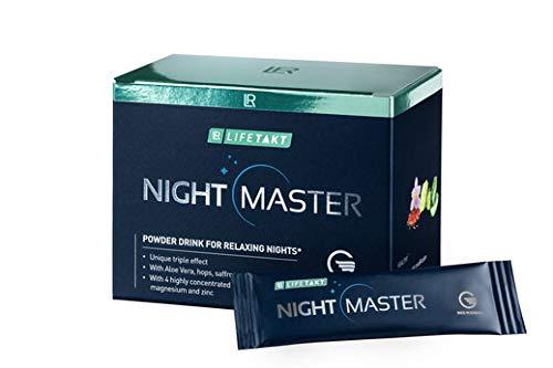 LR LIFETAKT Night Master – der Schlafdrink - NATÜRLICHE WIRKSTOFFE FÜR EINEN GESUNDEN SCHLAF. 30x3,7g