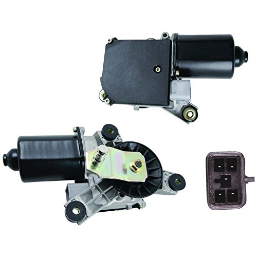 New Front Wiper Motor W/Pulseboard Module & Motor Delay Replacement For 1991-2000 Chevy GMC CK 2500 3500 Truck, Replacement For GM 12368702 15740719 22100736 22101097
