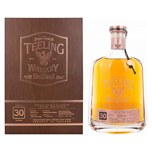 Teeling Whiskey Co. - Vintage Reserve Collection Single Malt - 30 year old Whisky
