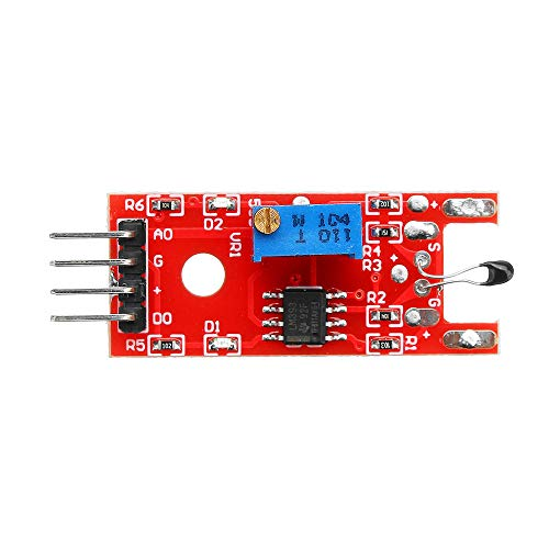 KY-028 4 Pin Digital Temperature Thermistor Thermal Sensor Switch Module Geekcreit for A-r-d-u-i-n-o - products that work with official A-r-d-u-i-n-o boards 10pcs Electronics Module Parts