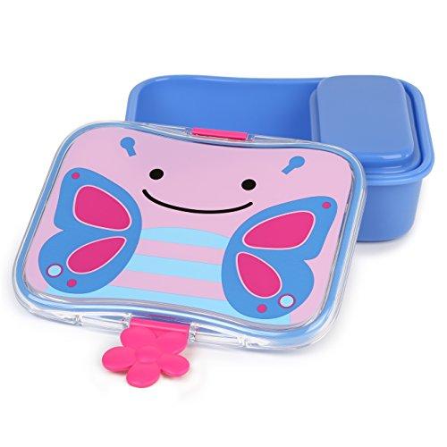Skip Hop Zoo Butterfly - Fiambrera y recipiente interior con tapa
