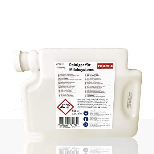 FRANKE FM Milchreiniger Spezialkartusche I Systemreiniger speziell für FRANKE Vollautomaten mit FM Milchsystem I Made in Germany
