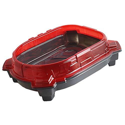 dailymall Red Kids Niños Toy Stadium Battle Top Plate Accesorios de Juguete para Niños
