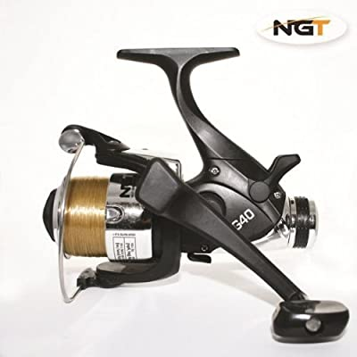 NGT EG40 Carp Pike Coarse Fishing Reels Baitrunner Reel Loaded With 10LB Line (1 Reel) by BryTec - Fishing Tackle from Carp-Corner