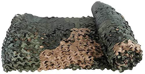 2X4m Red de camuflaje camuflaje neto grande de la flor de una sola capa de camuflaje Sombra Net / for la decoración al aire libre de la montaña verde que cubre Net Net interior del coche de Sun Net (T