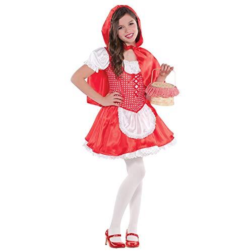 Amscan - 999 709 - Caperucita Roja Disfraz - 6-8 Años