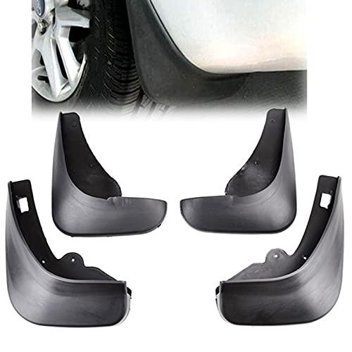WYYUE Coche Aletas de Barro, Mud Flap Accesorios, fit para F-ORD/Focus 2 MK2 MK2.5 Saloon Limousine 2005-2011, Delantero Trasero Tuardabarros Negro
