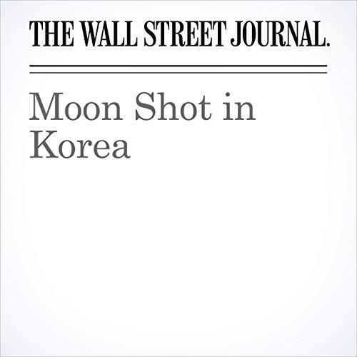 Moon Shot in Korea copertina