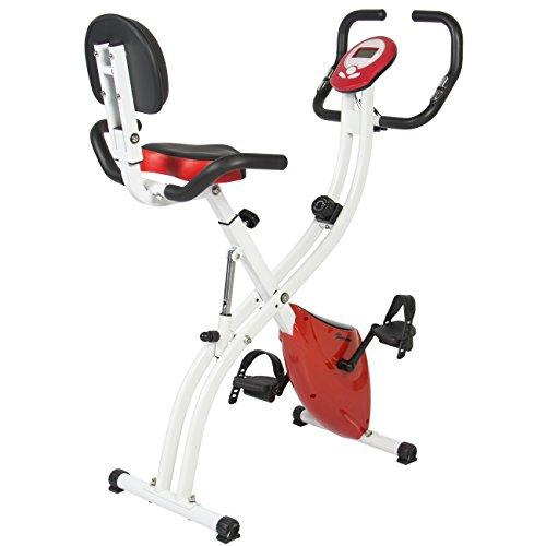 Best Choice Products Folding Upright Exercise...