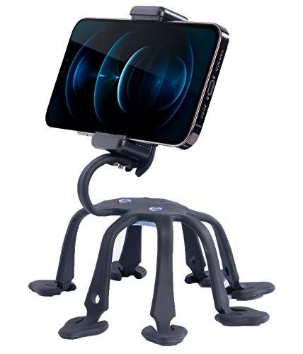 WixGear Handy-Stativ, Universal-Smartphone-Halterung, Octopus-Stativ, 8 Beine, für alle Smartphones