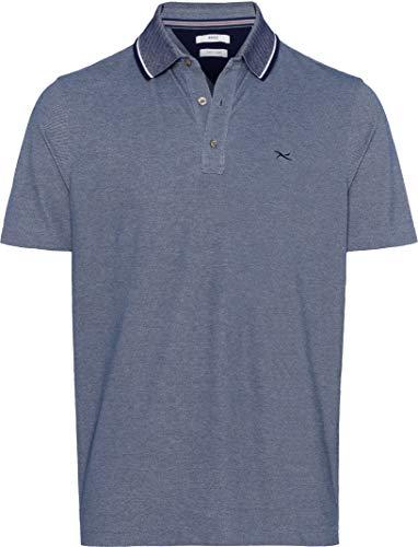 BRAX Herren Style Petter Easy Care Polo Shirt Poloshirt, Ocean, Medium (Herstellergröße: M)