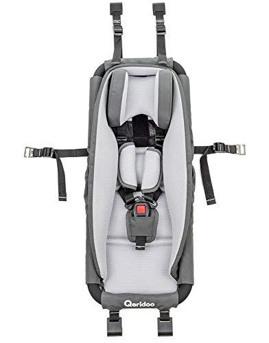 Qeridoo Hängematte mit Sicherheitsrahmen für Kinderanhänger oder Kinderwagen - hervorragende...