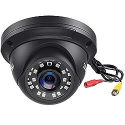 cheap ZOSI 2.0MP FHD 1080p Dome Camera Housing Outside Inside (Hybrid 4-in-1 CVI / TVI / AHD / 960H, Analog…