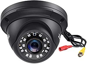 ZOSI 2.0MP FHD 1080p Dome Camera Housing Outdoor Indoor (Hybrid 4-in-1 CVI/TVI/AHD/960H Analog CVBS),24PCS LEDs,80ft IR Night Vision,CCTV Security Camera with 105° Wide Angle