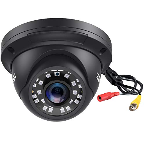 ZOSI 2.0MP FHD 1080p Dome Camera Housing Outdoor Indoor (Hybrid 4-in-1 CVI/TVI/AHD/960H Analog CVBS),24PCS LEDs,80ft IR Night Vision,CCTV Security Camera with 105