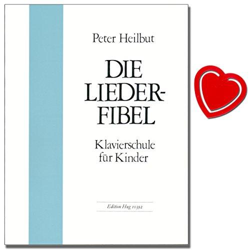 De liedfibel - piano school voor kinderen van Peter Heilbut - een manier om het piano spel en het geestelijke muscie op de piano te leren. Boek met muziekklem - GH10392 9790202803387