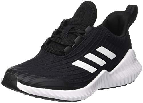 adidas Unisex Kinder Fortarun K Fitnessschuhe, Schwarz (Negro 000), 10,5 UK,37 1/3