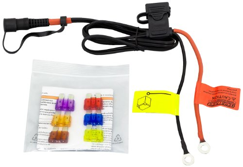 Gerbing 12V Battery Harness with 6 Color-coded Fuses – Replacement Battery Harness Compatible with 12V Heated Clothing