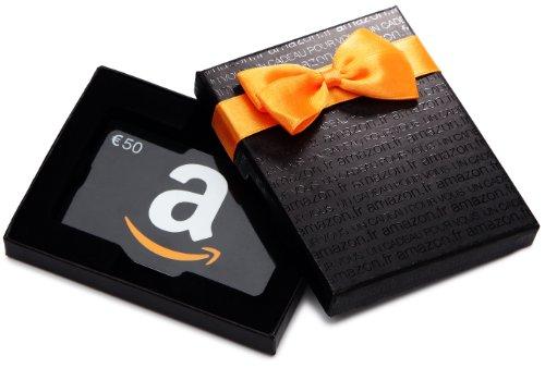 Coffret Carte Cadeau Amazon - Montant à définir