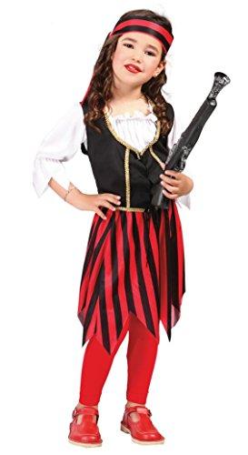 Fiestas Guirca Kostüm Piratenmädchen Pirat