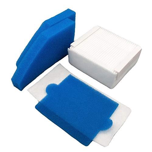 Without brand LT-Home, Filtre en Mousse Hepa Filtre for Thomas 787241, 787 241, 99 Nettoyage Filtre à poussière Remplacements Aspirateur Filtre Pièces de Rechange (Taille : 5sets)