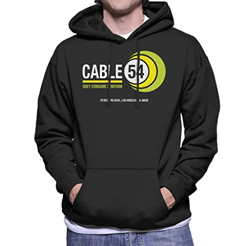 Cloud City 7 Ze leven kabel 54 mannen Hooded Sweatshirt