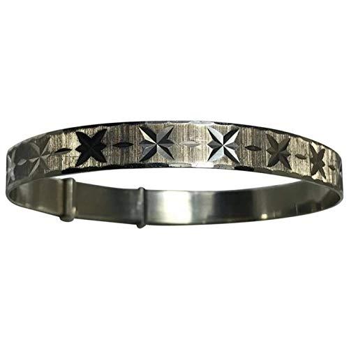 Georg Jensen Vintage-Armband, 925er Sterlingsilber, Diamantschliff, 1 Stück