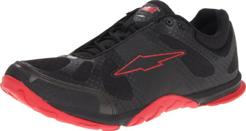Avia Men's Avi-Maximus-M, Black/Red Flag, 10 M US