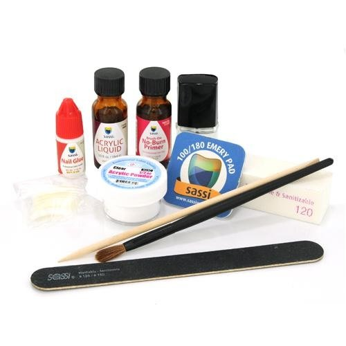 Sassi Professional Acrylic Kit, 8 Ounce