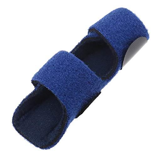 OTOTEC Finger Support Splint met Aluminium Plate Single-finger Wraps Straightening Fixing Belt Zwart Blauw