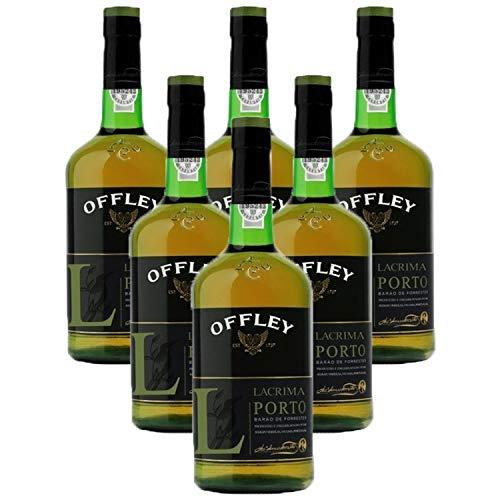Vino de Oporto Offley Lagrima - Vino Fortificado- 6 Botellas
