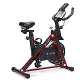 HEWXWX Bicicletta da Ginnastica silenziosa Indoor Cycling per Uso Domestico/Palestra, con Supporto del Telefono, 140-190cm Disponibile con la velocità di scansione calorie120kg Max