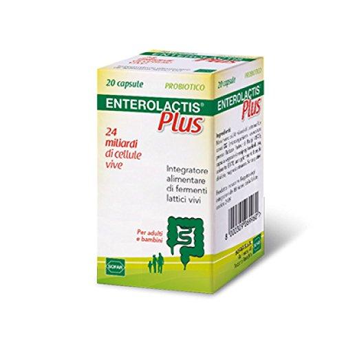 Sofar Enterolactis Plus Integratore Alimentare 20 Capsule