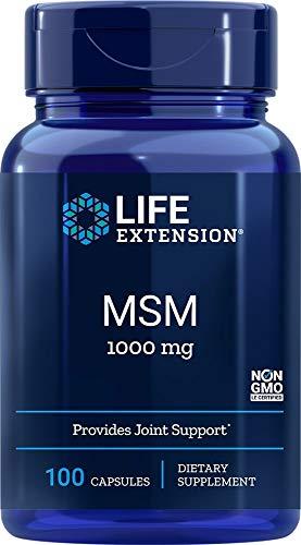 Life Extension, MSM, Organischer Schwefel, 1.000 mg, 100 Kapseln, sojafrei, glutenfrei