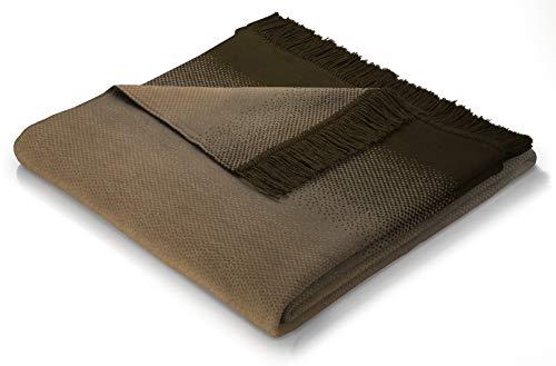 biederlack Sofa 100x200 cm I Sesselschoner Ombre braun I Sofaschoner I 60% Baumwolle, 40% dralon I Made in Germany