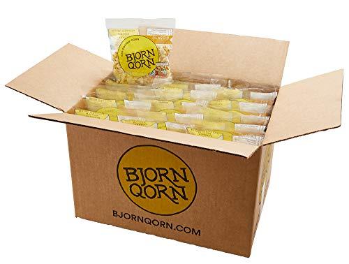 Best Review Of BjornQorn Mini Bag 30-Pack (Classic) Popcorn - Vegan & Gluten Free - Savory, Cheesy, ...